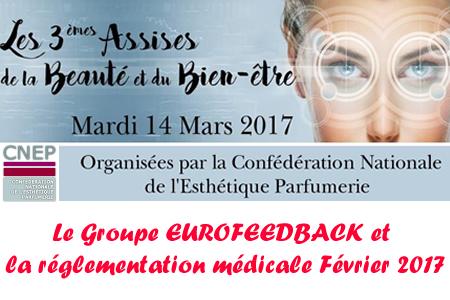 Conférence 3B: EUROFEEDBACK et Réglementation Médicale Février 2017