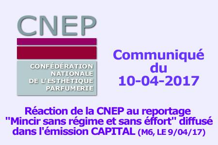 Réaction CNEP au reportage mincir sans effort de M6