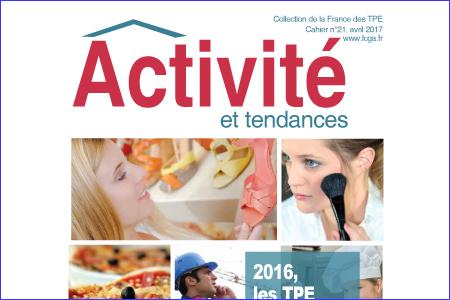 Activités des TPE en 2016
