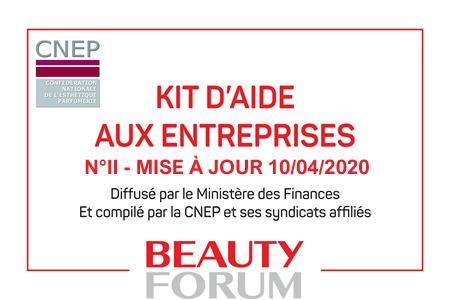 LE KIT D'AIDE AUX ENTREPRISES MIS A JOUR – 9/04/2020