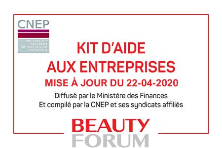LE KIT D'AIDE AUX ENTREPRISES MIS A JOUR – 22/04/2020