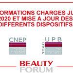 INFORMATIONS CHARGES JUIN 2020 ET DISPOSITIFS MIS A JOUR